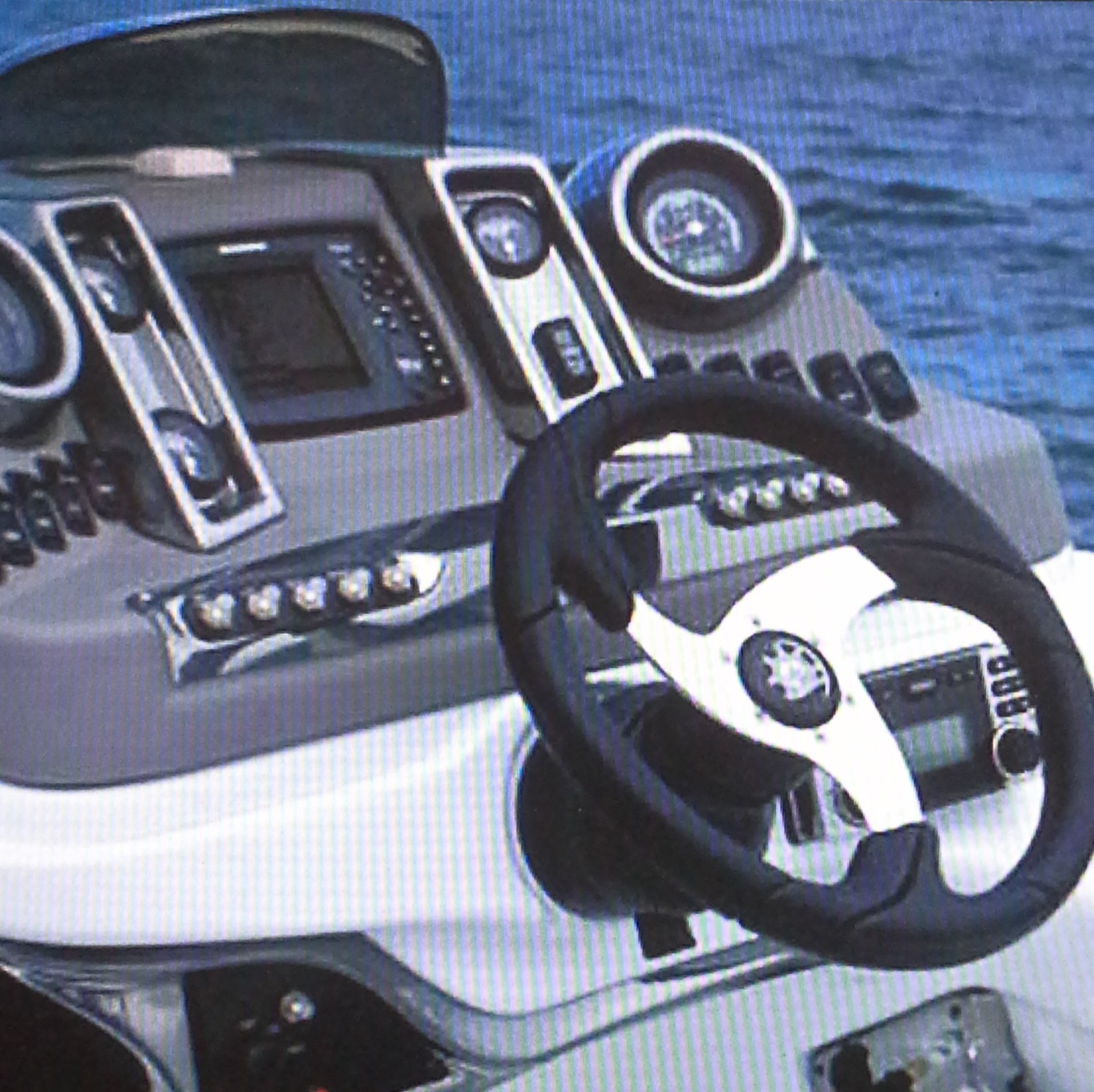 driving wheel of a boat